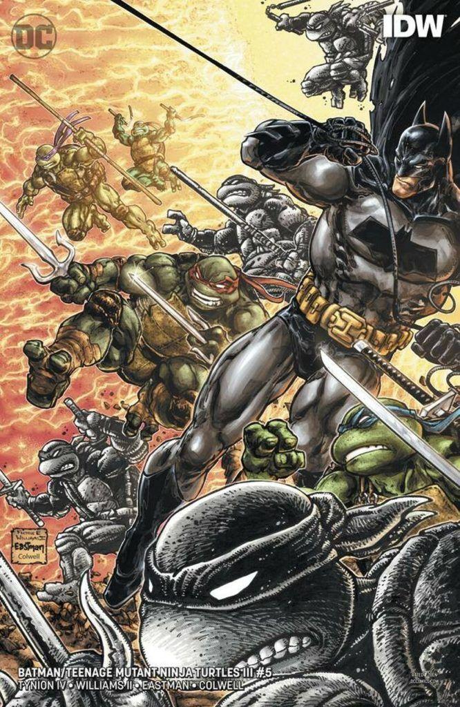 Batman i Wojownicze Żółwie Ninja - przykładowa strona