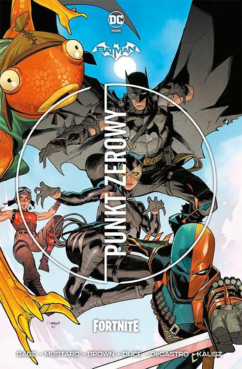 Batman Fortnite - okładka