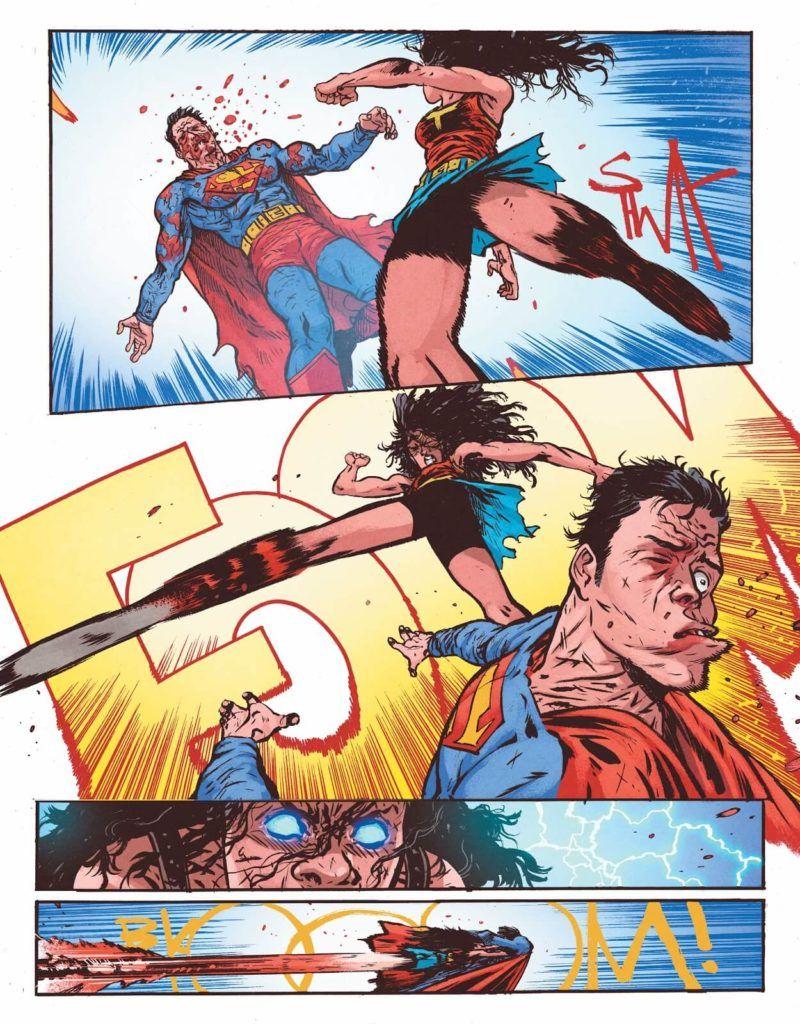 Wonder Woman. Martwa Ziemia - rys. Daniel Warren Johnson