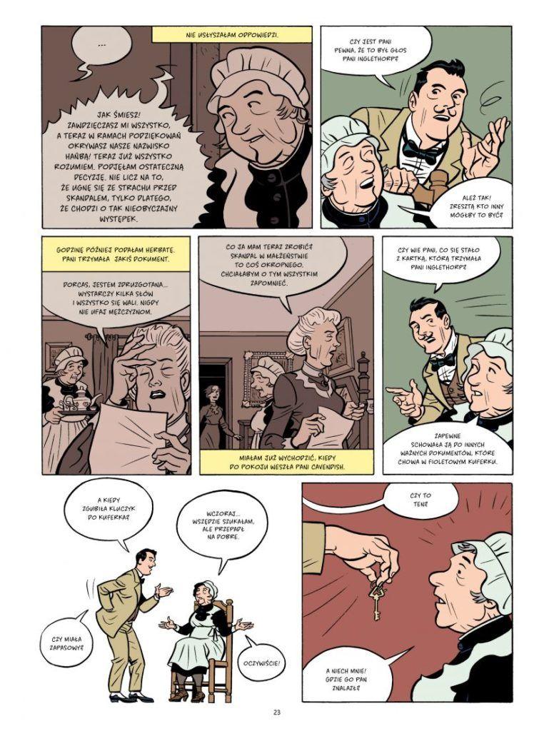 Agatha Christie. Tajemnicza historia w Styles - Plansza przykładowa