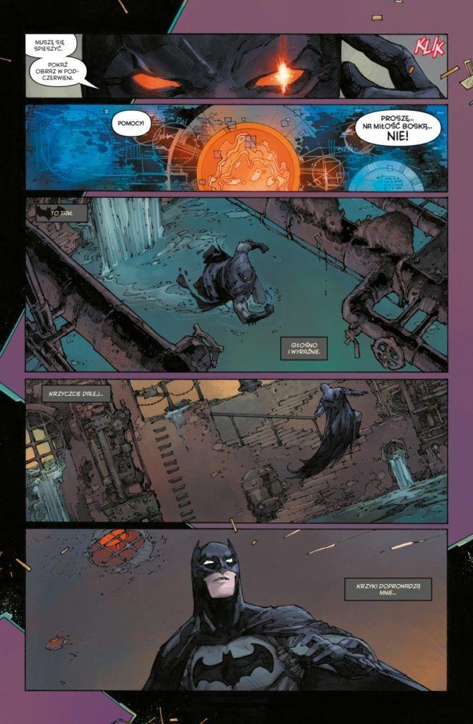 """""""Batman. Detective Comics"""" - Tom 5 - przykładowa strona"""