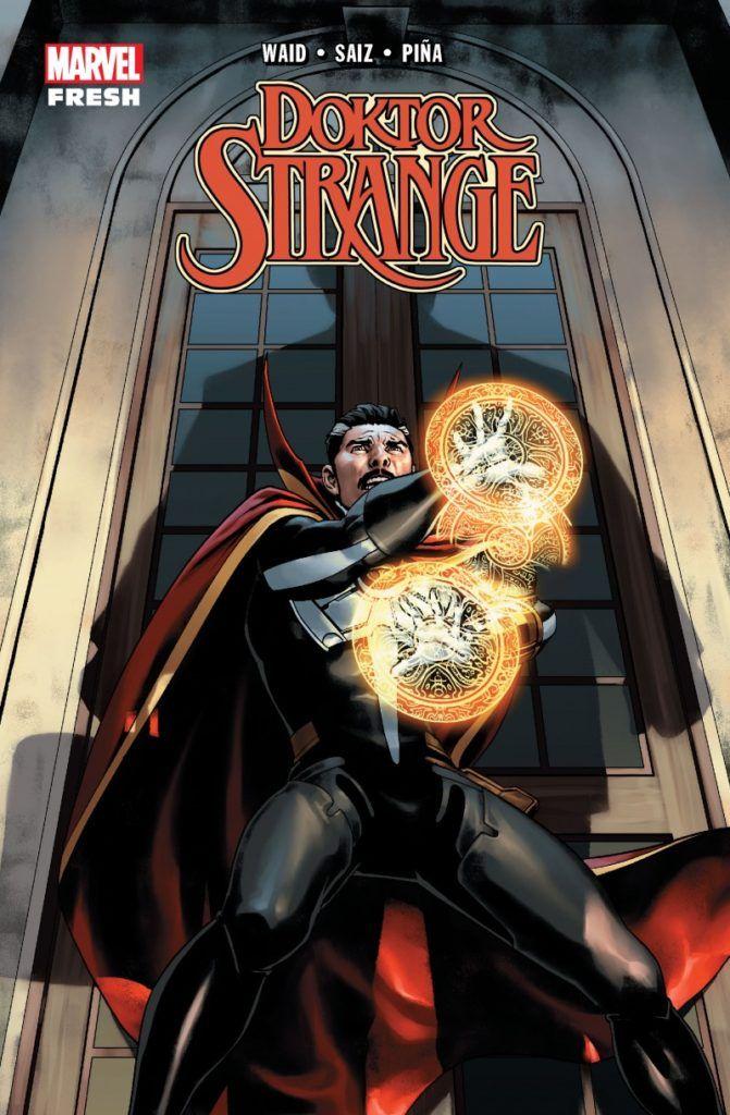 """Doktor Strange"" - Tom 1 - okładka"