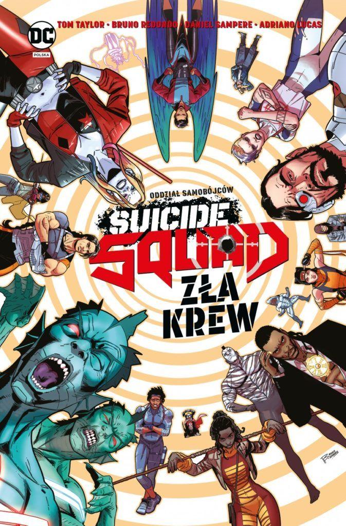 """""""Suicide Squad: Zła krew"""" - okładka"""