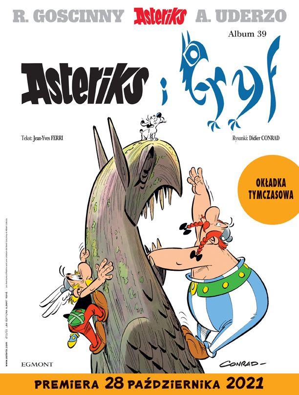 Asteriks i Gryf - okładka
