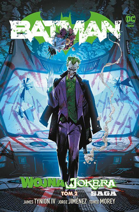 Batman. Wojna Jokera, tom 2 - okładka