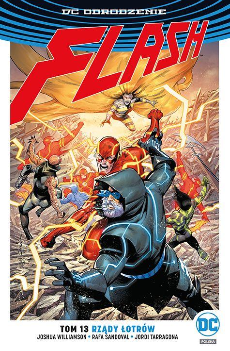 Flash, tom 13 - okładka