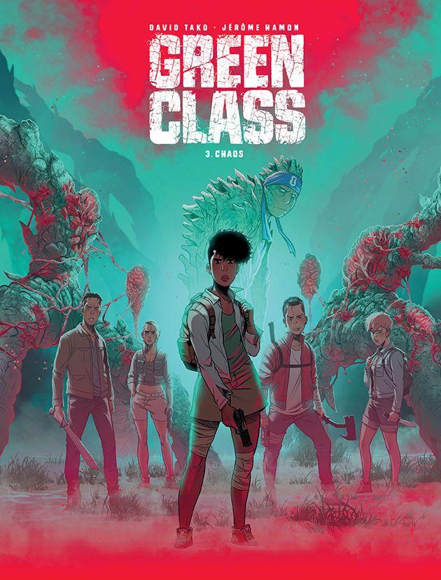 Green Class, tom 3 - okładka