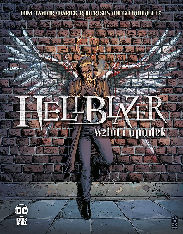 Hellblazer. Wzlot i upadek - okładka