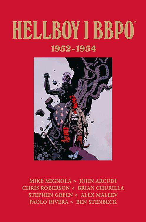 Hellboy i BBPO. 1952-1954 - okładka