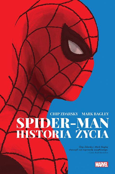 Spider-Man. Historia życia - okładka