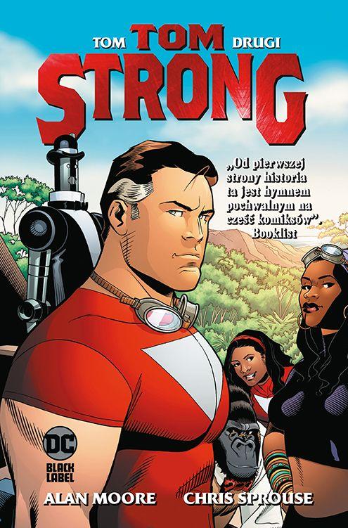 Tom Strong, tom 2 - okładka