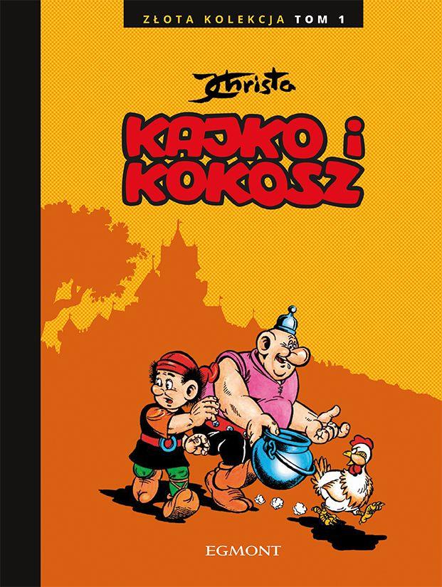 Kajko i Kokosz. Złota Kolekcja, tom 1 - okładka