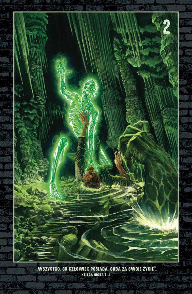 Nieśmiertelny Hulk - rys. Alex Ross