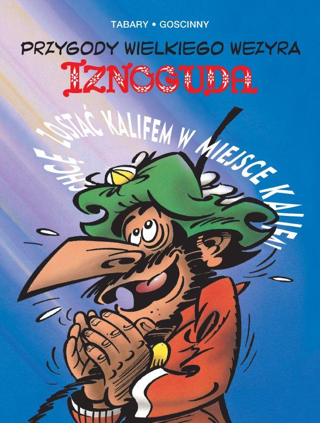 Iznogud, tom 4 - okładka