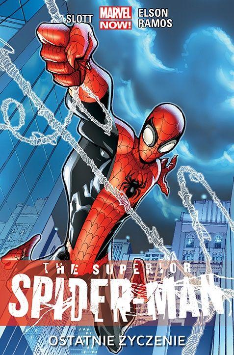 """Recenzja – """"The Superior Spider-Man. Ostatnie życzenie"""""""