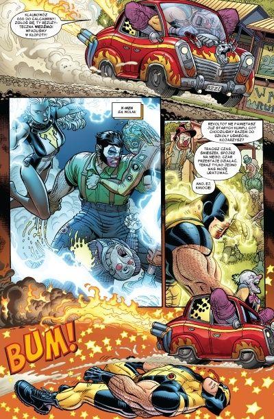 X-Men Cyrk 2
