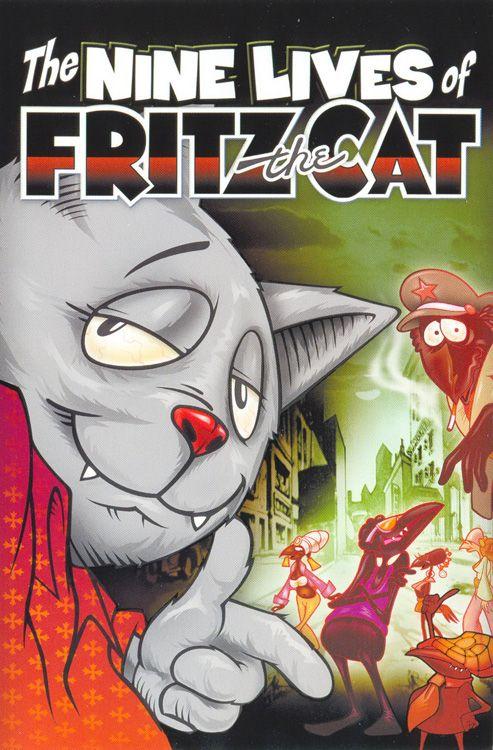 Dziewięć żywotów Kota Fritza Kz Magazyn Miłośników Komiksu