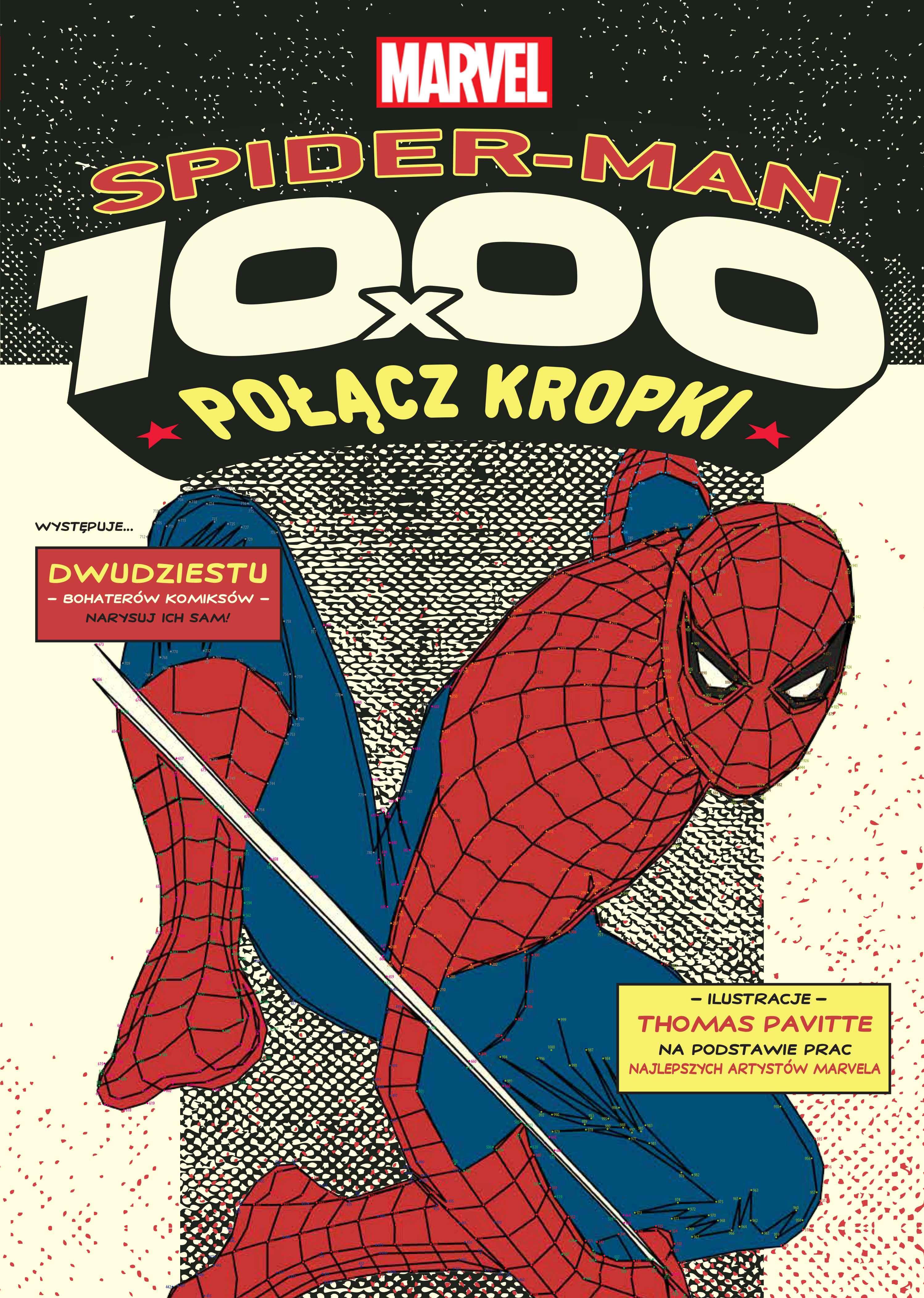 Spider-Man i Marvel z serii Połącz kropki