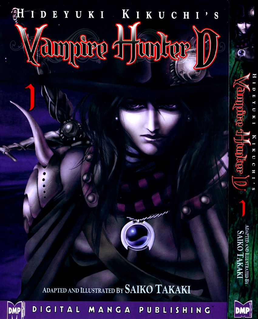 Vampire_Hunter_D_v01_-_Cover01